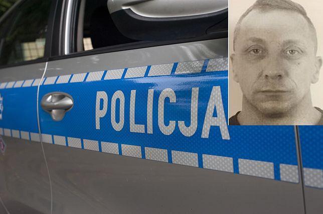 44-letni Piotr Modelski poszukiwany jest na podstawie listu gończego