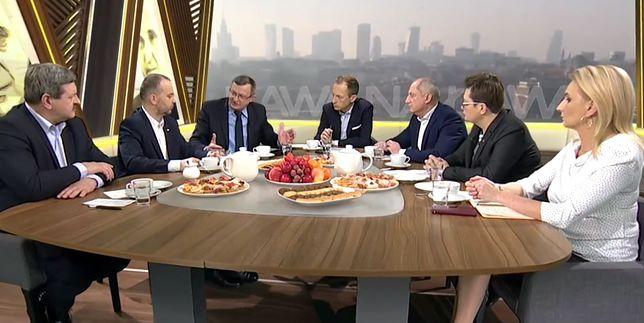 Ostra dyskusja między Tadeuszem Cymański a Sławomirem Neumannem