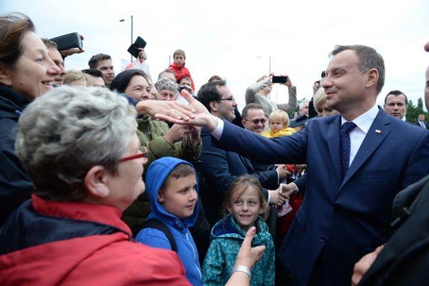 Prezydent Andrzej Duda: nie powiedziałbym dzisiaj Polakom - wracajcie