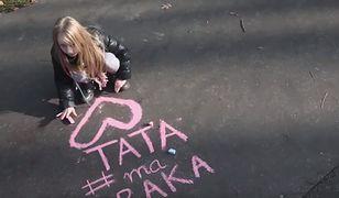 7-latka walczy o pomoc dla chorego taty. Dziewczynka pojawiła się we wzruszającym nagraniu