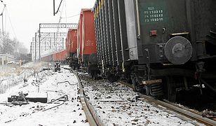 Złodzieje wykoleili pociąg w Piekarach Śląskich. Nikomu nic się nie stało