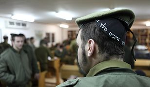 Żołnierz ultraortodoksyjnego batalionu Netzah Yehuda