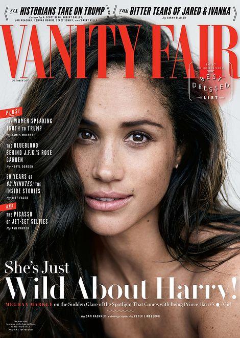 "Meghan Markle na okładce ""Vanity Fair"""