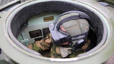 Norweska armia wykorzystuje Oculus Rift... w czołgach