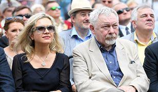 Małgorzata Wassermann i Jacek Majchrowski na ostatniej prostej wyścigu o fotel prezydenta Krakowa