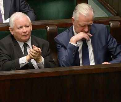 Jarosław Kaczyński podczas środowego posiedzenia Sejmu
