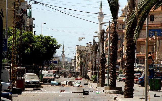 Krwawe starcia w Trypolisie