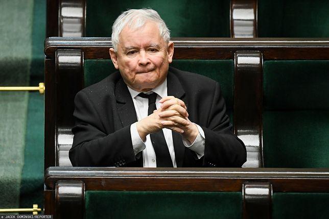 Koronawirus w Polsce. Jarosław Kaczyński o wyborach prezydenckich 10 maja: sytuacja zero-jedynkowa