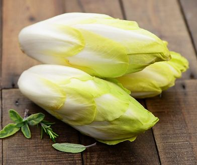 Cykoria to rodzaj zimowego warzywa zielonego