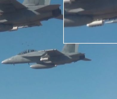 Nowy sposób prowadzenia wojny – zamiast bomb samoloty zrzucają setki dronów