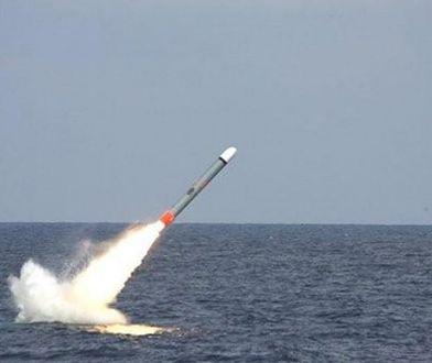 Wystrzelenie pocisku Tomahawk z okrętu podwodnego