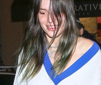 Bella Thorne bez makijażu i w podartych rajstopach. Nie przejmuje się wizerunkiem
