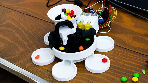 2. Maszyna do sortowania Skittlesów
