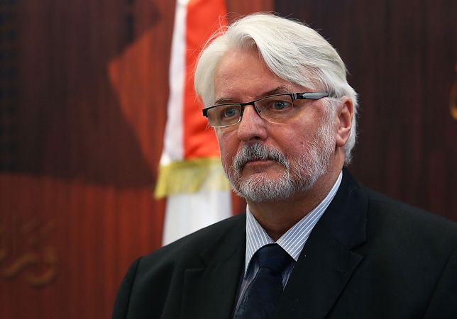 Apel o plan UE dla Białorusi. Witold Waszczykowski: Polska musi działać