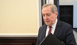 """Minister przypomina dziennikarce. """"Powinna wpłacić 10 tys. zł"""""""