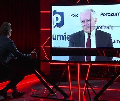 Wybory 2020. Zakład Jarosława Gowina z dziennikarzem WP
