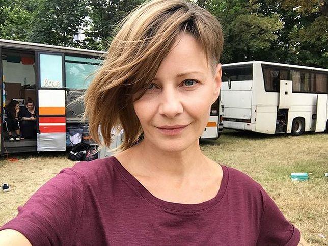 """Nieoficjalnie mówi się, że w filmie """"Plagi Breslau"""" Kożuchowska wciela się w policjantkę"""