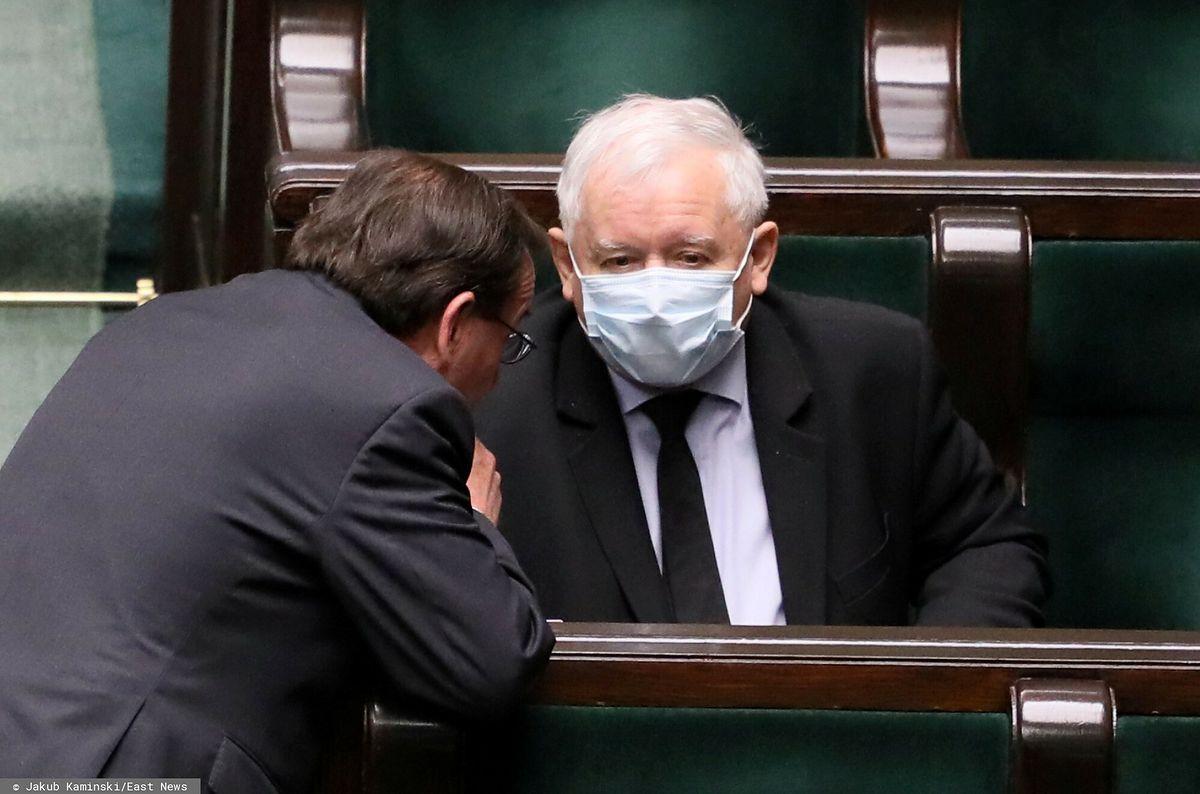 Mariusz Kamiński i Jarosław Kaczyński