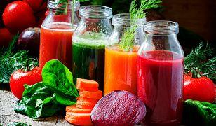 Sok - pyszna, zdrowa i szybka do zrobienia porcja zdrowia