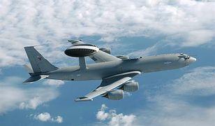 AWACS nad Polską i Europą. Aż cztery samoloty NATO w akcji
