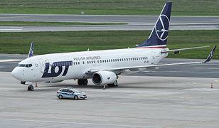 Zatrzymanie samolotu LOT w Sankt Petersburgu. Jest stanowisko ULC