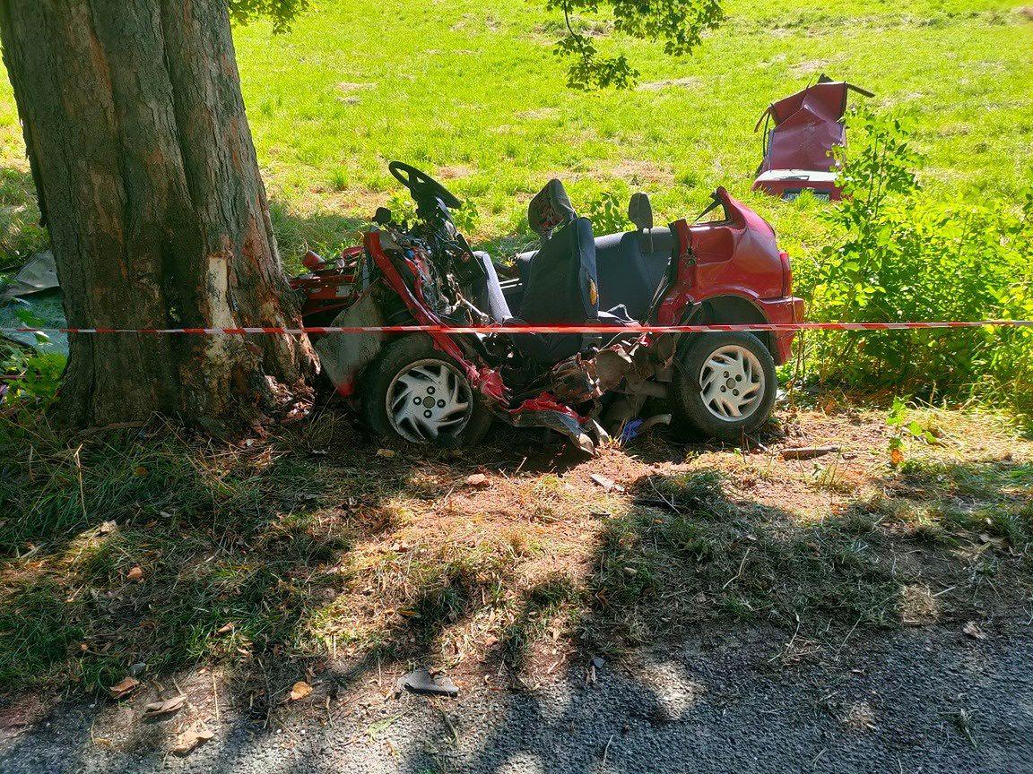 Koszmarny wypadek. Strażacy ratowali swojego kolegę