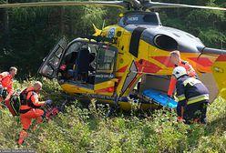 Szczuczyn. Wypadek na drodze do Wąsosza. Są ranni