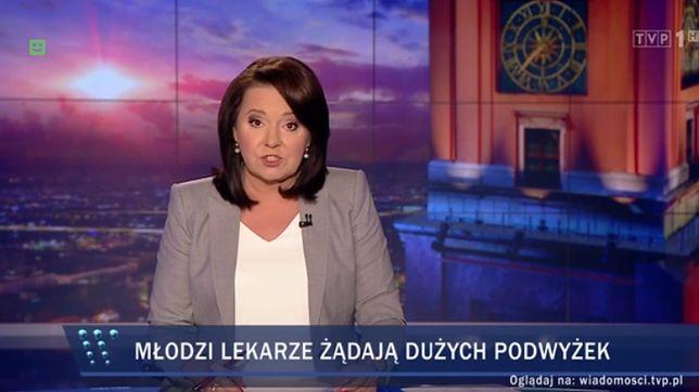 """Pasek z """"Wiadomości"""" z 12 października"""