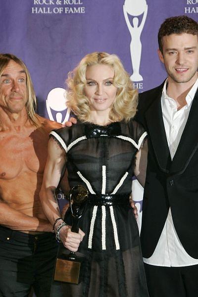 Iggy Pop, Madonna, Justin Timberlake