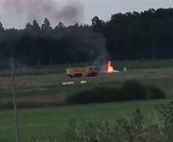 Katastrofa samolotu w Szwecji. Miało lecieć nim 9 osób