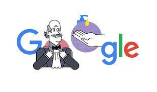 Google Doodle upamiętnia Ignaza Semmelweisa.