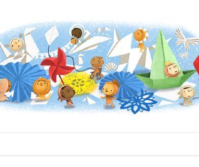 Google Doodle ze specjalną grafiką na Dzień Dziecka