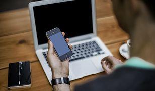 telefon i laptop