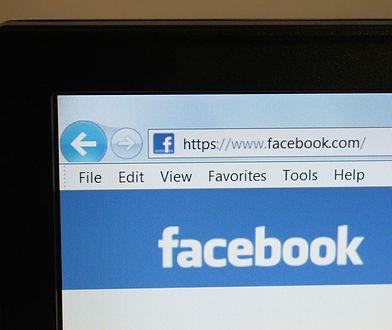 ekran i facebook