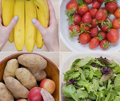 Chcesz, by owoce i warzywa zachowały dłużej świeżość? Wypróbuj sprawdzone triki