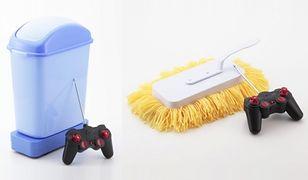 Zdalnie sterowane gadżety do sprzątania