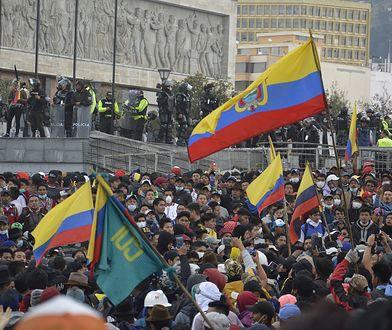 Zamieszki w Ekwadorze dobiegają końca