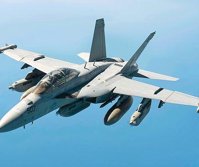 EA-18G Growler przeznaczony do zagłuszania radarów wroga