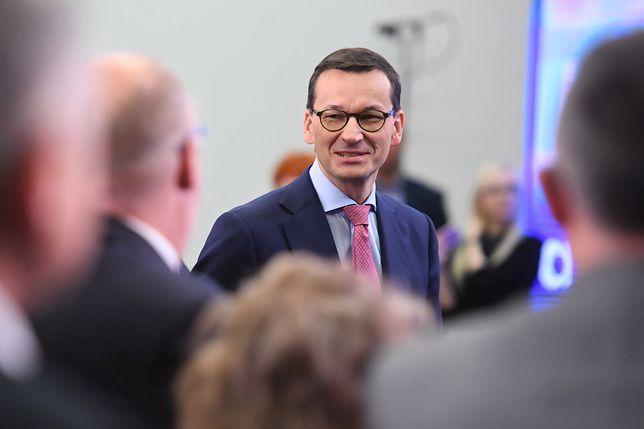 Mateusz Morawiecki na spotkaniu z wyborcami