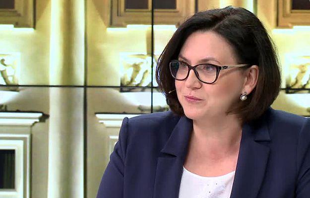 Małgorzata Sadurska: pani prezydentowa Agata Duda aktywnie prowadzi swoją działalność