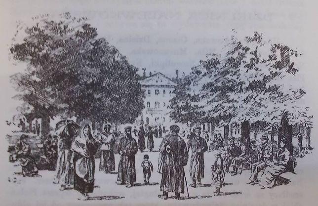 Plac, Pałac i Ogród Krasińskich (SPACER)