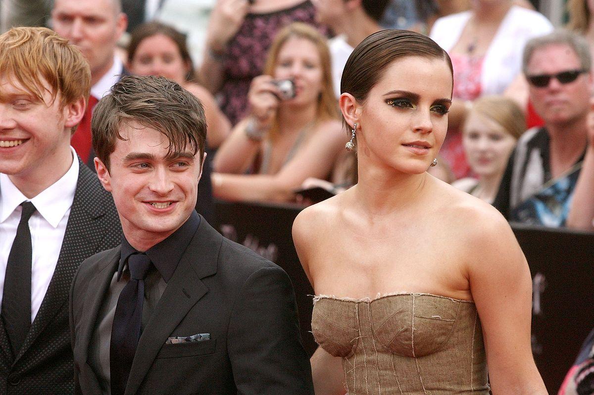 """Bohaterowie fimowej wersji """"Harry'ego Pottera""""."""