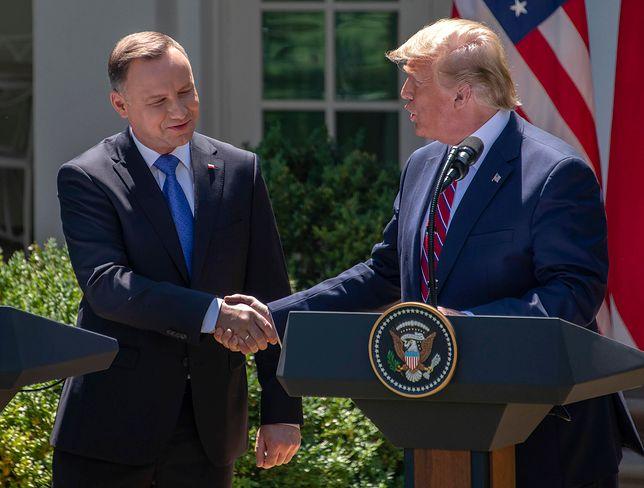 Donald Trump często podkreśla dobre relacje USA z Polską