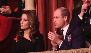 Księżna Kate nie w humorze na uroczystej gali