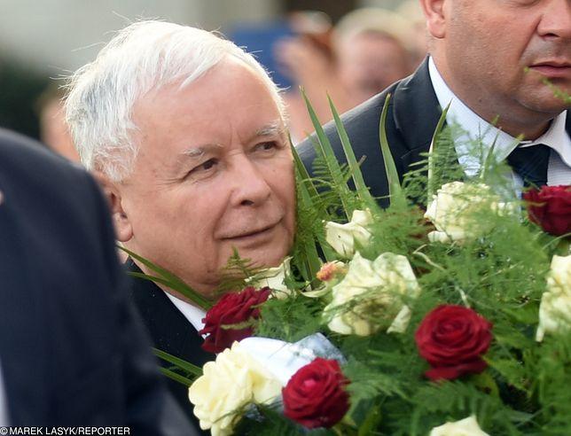 Lider PiS Jarosław Kaczyński.
