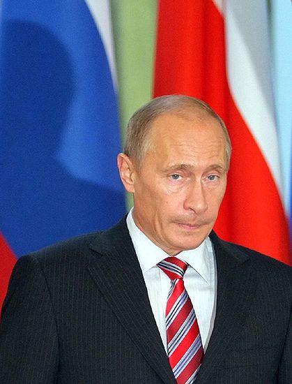 Premier Rosji przyleciał do Berlina