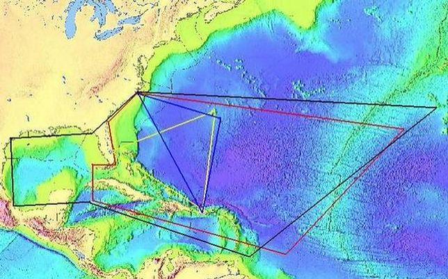 Zasięg Trójkąta Bermudzkiego zmienia się w zależności od opracowania, autora i interpretacji