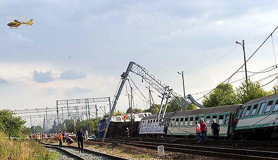 Katastrofa w Babach - zdjęcia