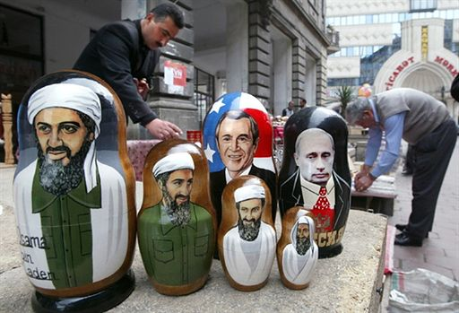 Zabawa bin Ladenem i kufel piwa ze Stalinem? To możliwe