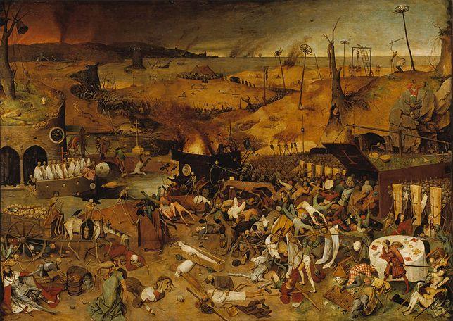 "Obraz ""Triumf śmierci"" Pietera Bruegla"